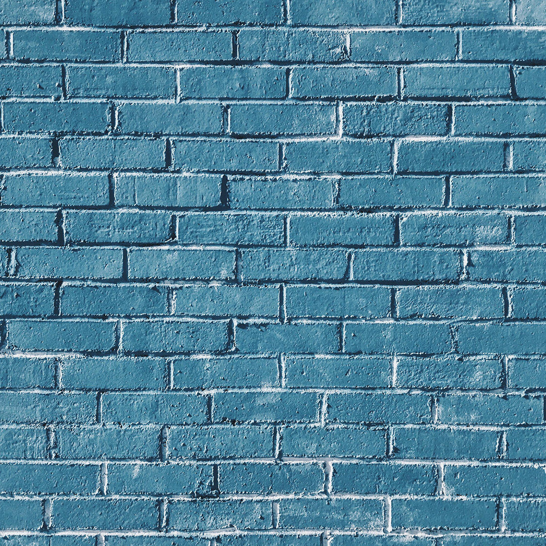 gray-concrete-bricks-painted-in-blue